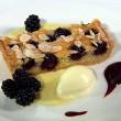 Blackberry and Almond Tart