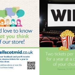 Tell Scotmid - Cinema Tickets