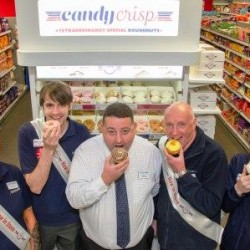 Launch of 'Candy Crisp' Doughnut Range