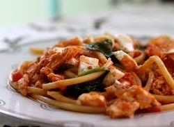 chicken and tom pasta recipe