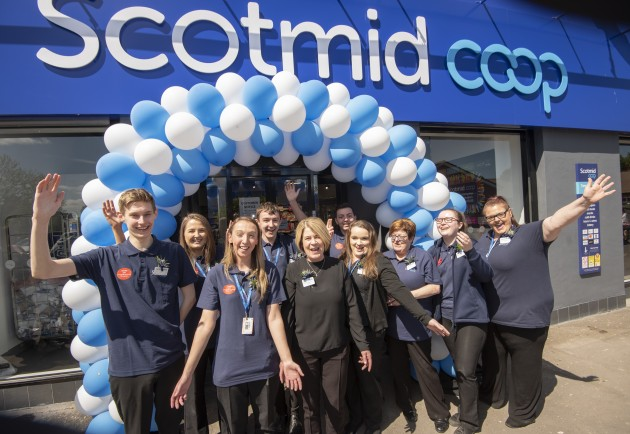 Scotmid Coop, Old Mill Road, Uddingston.